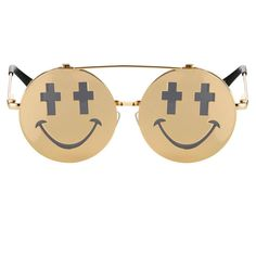 Lunettes Smile Jeremy Scott x Linda farrow