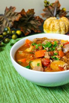 Fall Vegetable Stew by Eat Spin Run Repeat