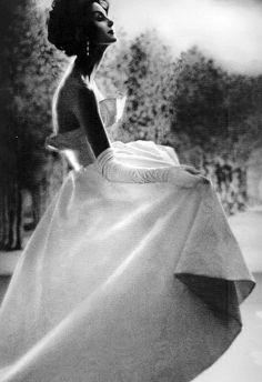 Anne St Marie 1959 #vintage #fashion #gown