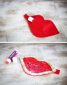 DIY: lip gloss holder