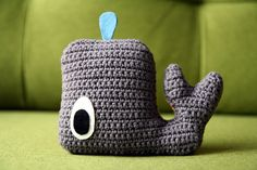 Ravelry: Whale free crochet pattern by Claudia van K. doors, crochet babi, claudia van, free pattern, free amigurumi, tissue boxes, amigurumi crochet, crochet patterns, whale pattern