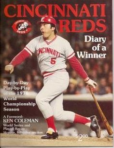 World Champion Cincinnati Reds 1976 Magazine, « Library User Group. I was there.