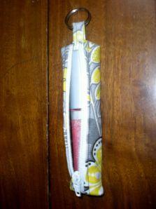 Chapstick holder tutorial.