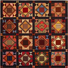 Texas Quilt Museum.. Blind Man's Fancy ..9 Diva Quilters