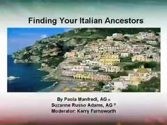 Finding your Italian Ancestry
