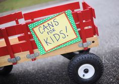 Cans For Kids  Cute Idea