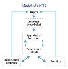 Model of obsessive compulsive disorder