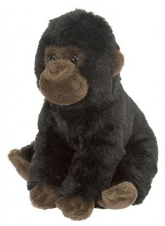 Cuddlekins Gorilla Baby 8-inch Plush at theBIGzoo.com, a family-owned gift shop with 12,000+ animal-themed items.