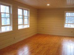 Cheap flooring DIY idea-- $1 for plywood flooring