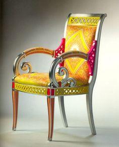 Vanitas II Armchair - by Versace