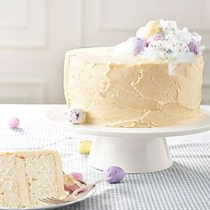 Malted Vanilla Cake recipe for Easter