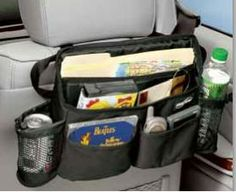 Swing Away Car Organizer from Clever Container - Contact me to see new patterns and updates.  RachelLittleton@aol,com