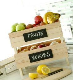 veggi crate, kitchen