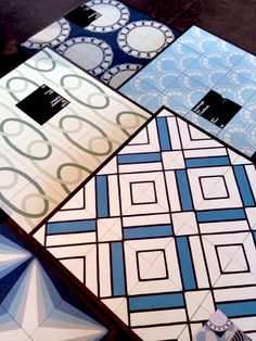 Workhouse Collection cement tiles