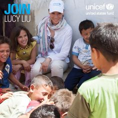 This Monday, Lucy Liu will join our panel of UNICEF experts for a Google+ Hangout to share what she witnessed on her recent visit to #Lebanon. The Hangout will also address the needs of the millions of #ChildrenOfSyria across the region. Watch LIVE on July 1 at 12 p.m. EST! http://uncf.us/14wi0mo