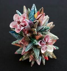 I'm not entirely sure I *like* it, but I certainly admire the skill! > Geometric Currency Sculptures | Kristi Malakoff