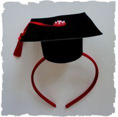 For my Graduation PARTY!!! :) Graduation Headband!