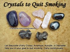 Crystal Guidance: Crystal Tips and Prescriptions - Smoking