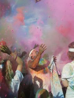The Color Run Finale ...........  I can't wait!