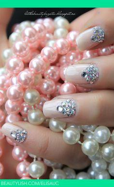 Snow Queen Nails | Elisa U.'s (elisauc) Photo | Beautylish