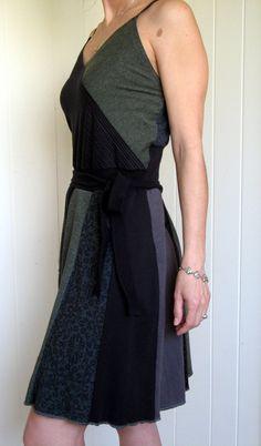Turnaround Designs upcycled tshirt dress