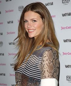 Brooklyn Decker as a brunette, nice color inspiration.