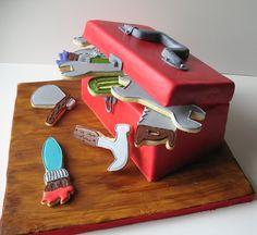 Tool Box Cake.