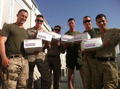 """Another email and photo from Afghanistan to share: """"Operation Gratitude: Thank you for the support. r/, Captain J.F."""""""