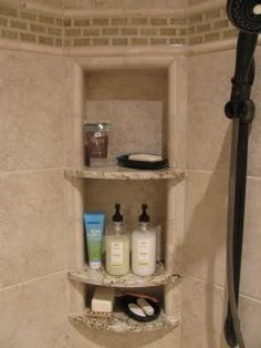 Granite shelves in n
