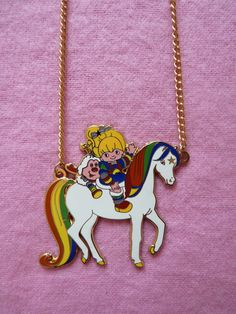 awesome Etsy listing at http://www.etsy.com/listing/88090148/vintage-rainbow-brite-80s-cartoon