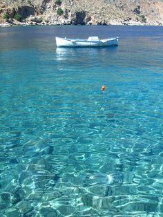 water, loutro crete, blue, greece, dream vacations
