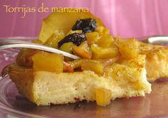 torrijas de manzana Morgana
