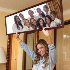mirrors, bridesmaids, pictur, idea, bride hold, someday, futur, dream, photographi
