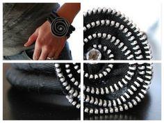 I Love This Zipper Bracelet