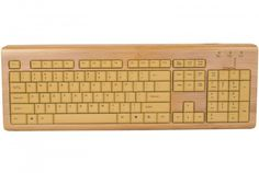 Ide cadeau bio colo dco : clavier et souris en bambou