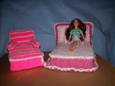 Barbie's Bedroom Set