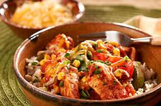 Slow-Cooker Tex-Mex Chicken recipe.  Another Bug Favorite