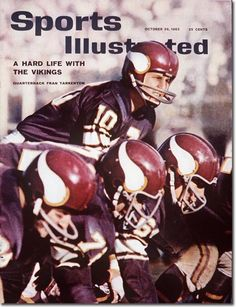 Fran Tarkenton on the cover of Sports Illustrated