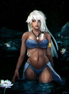 Dirty Disney Dames Atlantis Princess Kida