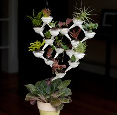 3D-Printed Modular Mini Planter System is Drip Irrigation For Other Plants - Urban Gardens
