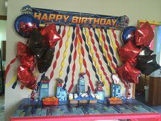 Spider-man birthday decorations