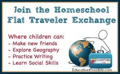 Join the Homeschool Flat Traveler Exchange - Education Possible