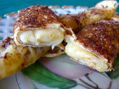 Julia Child's Crepes with Almond Cream
