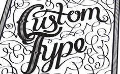6 Awesome Hand Lettering Tutorials creat decor, illustrator tutorials, illustrators, hand lettering tutorials, adobe illustrator, adob illustr, custom type, design, decor custom