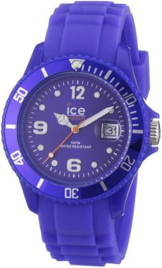 Ice-Watch Unisex SI.BE.U.S.09 Sili Collection Blue Plastic and Silicone Watch  $67.66