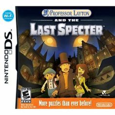"""Another puzzlicious Layton adventure, in prequel form. I ended up playing the London Life bonus """"minigame"""" for a week before even starting the main game though..."""
