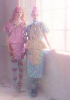 Freb Dutler A/W12 Rosy Nicholas collaboration