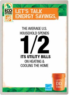 The average U.S. household spends half its utility bills on heating and cooling the home. Click the image to see products and DIY projects that will reduce those costs.