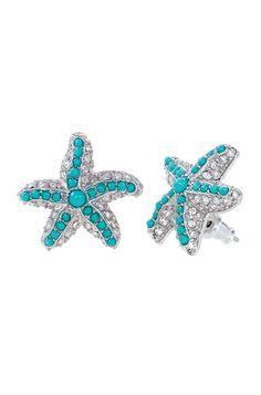 Starfish earrings ;P