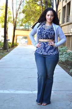cute outfit for us curvy women <3